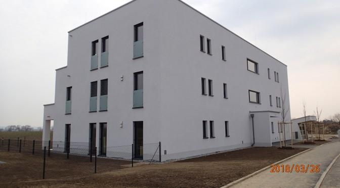 Übergabe 2. Bauabschnitt und Beginn 3. Bauabschnitt in der Europastraße